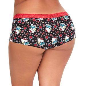 Torrid Hello Kitty Size 2X Cotton Boyshort Panty